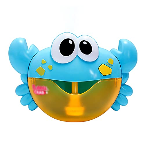 Bad Speelgoed Bubble, Bad Toy Crab Speelgoed Kids Machine Automatische Bubbles Maker Zeep Bubble Mask Foam Zeepbellen Plastic,Black