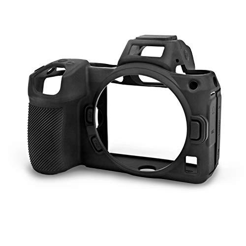 Walimex pro easyCover Silikon Kamera Schutzhülle für Nikon Z5, Z6 II & Z7 II schwarz – Schutz vor Stössen Kratzern Dreck Spritzwasser, leicht passexakt rutschsicher