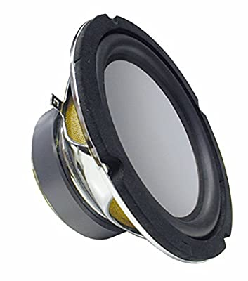165mm subwoofer bass box with aluminum diaphragm 150 Watt 4 Ohm by RockWood