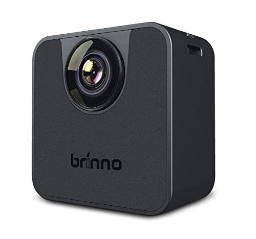 BRINNO TLC120 HDR TIME Lapse WI-FI Camera, with Brinno Camera App Control for iOS Only, Perfect for Work from Home, Quarantine, Self-Isolation, Home School, IPX4 Splash Proof and Weather Resistant