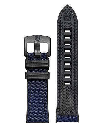 Original Luminox Ersatzband / Gurtband für Serie 3500, 3800 - 24 mm schwarz