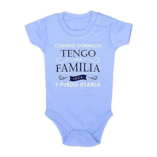 ClickInk Body bebé Familia loca. Regalo...