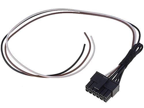 Cable lead compatible avec autoradio chinois 3 fils et interface commande au volant
