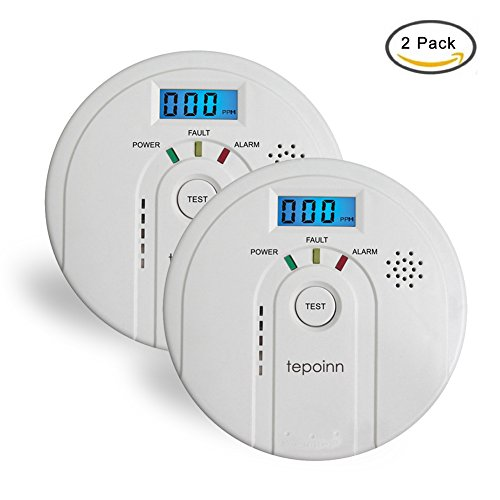 Tepoinn 2pcs Detector de Monóxito de...
