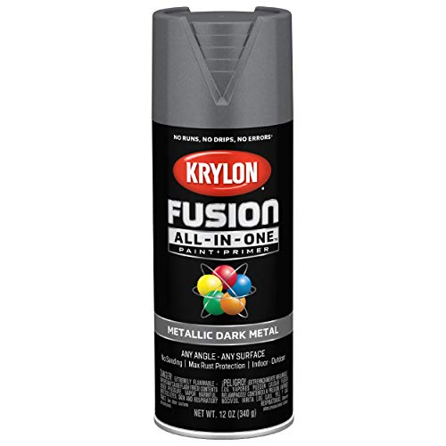 Krylon Fusion All-In-One Metallic Spray Paint  $4.96 at Amazon