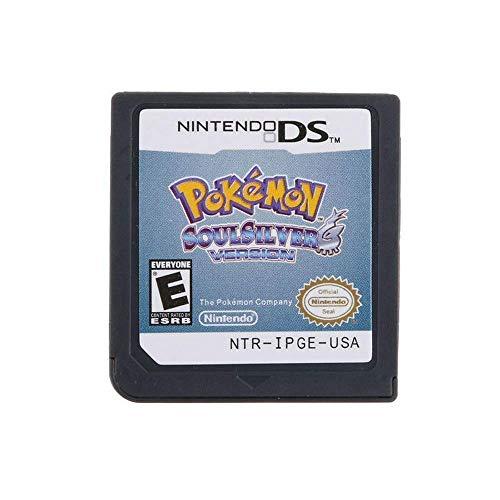 PokemoNew Pokemon Soul Silver Version Card per NDS 3DS DSI DS (versione di riproduzione) n Soul Silver Version Game Card per NDS 3DS DSI DS (versione di riproduzione)