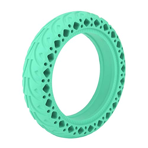 Germerse Neumático de Scooter de 8,5 Pulgadas Fácil de Usar Neumático de Scooter antiexplosión Material de Goma Resistente al Desgaste Alta confiabilidad para neumáticos de(Green)