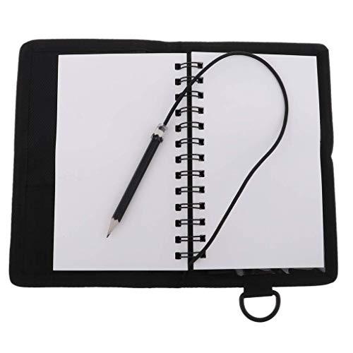 Busirsiz Dive Tablet Tauchen Writing Slate Board & Swivel Clip & Stift for Notizen...
