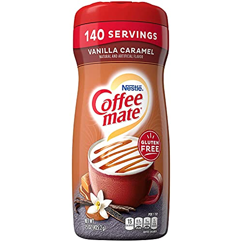 Nestle Coffee-Mate Vanilla Caramel - Coffee Creamer 425g