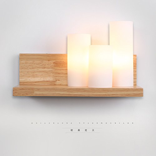 Creative LED/éclairage mural métallique,moderne/contemporaine Retro applique murale Night Light,lampe de chevet chaud simple chambre créatif mur feux d'allée led personnalité escaliers en bois massif moderne wall lamp
