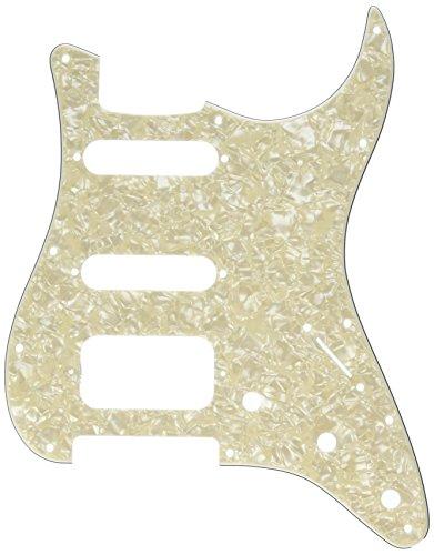 Fender Lone Star Pickguard, White Moto