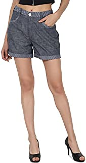 PepTrends chambaray Shorts