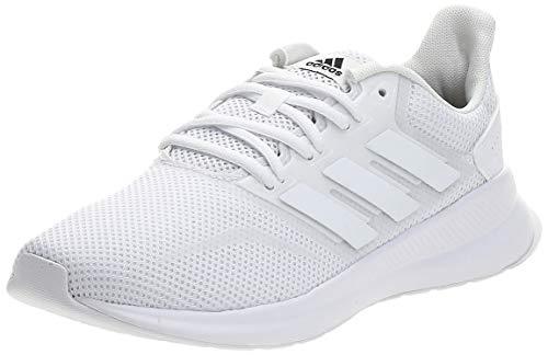 adidas RUNFALCON, Running Shoe Hombre, Blanco Ftwbla Ftwbla Ftwbla 000, 43 1/3 EU