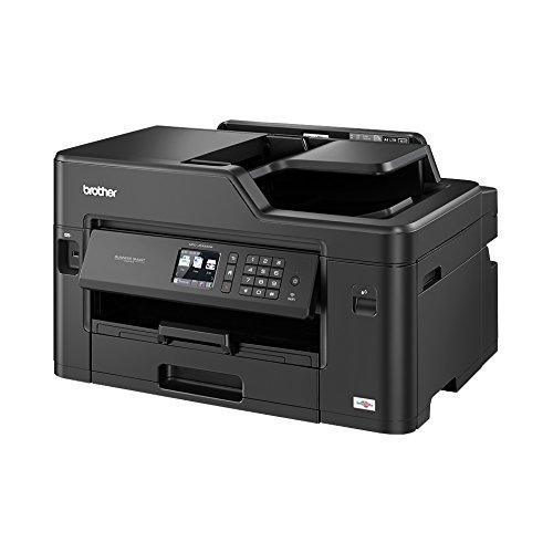 Brother MFC-J5330DW- Impresora multifunción por inyección de tinta, con wifi, 128 MB de memoria, 530 x 398 x 304 mm | 16.9kg, color negro [Importado de Alemania]