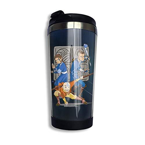 Taza de café de acero inoxidable Aang Fashion para hombres y mujeres