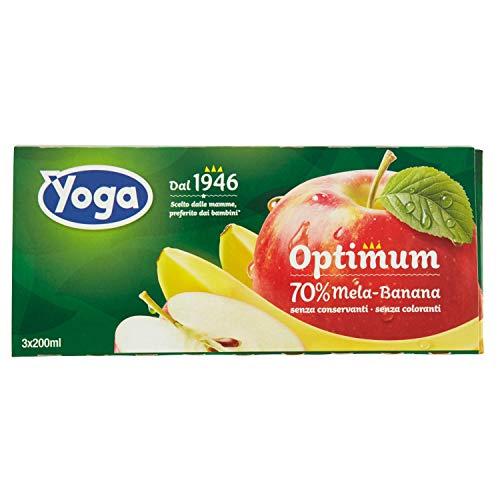 Yoga Succo Optimum Mela Banana Ml.200X3