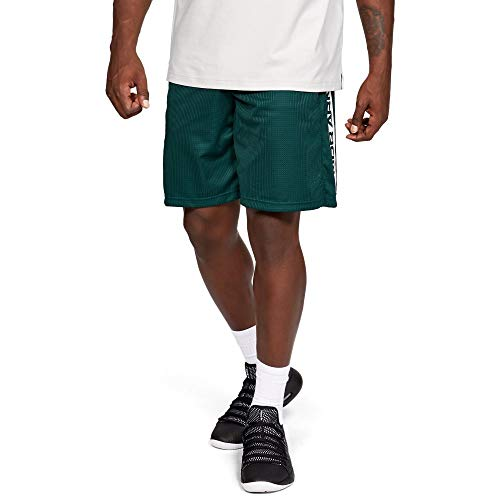 Under Armour Short UA Pursuit Court Pantaloncini da Tennis, Green, XL Uomo