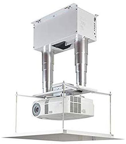 CGOLDENWALL Soporte de Techo para proyector eléctrico con rotación Horizontal de 360...