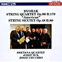 Dvorak:Strings Quartet No.12 & Sextet by Chuchro,Smetana Quartet Suk (2002-06-21)