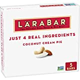HEALTHY SNACKING: With 100% real ingredients and no artificial sweeteners, you can Raise A Bar to what you love! Larabar makes simple healthy snacks you can feel good about eating MADE FROM 5 SIMPLE INGREDIENTS: Larabar Coconut Cream Pie is made from...