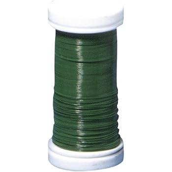 gegl/üht 0,35 mm /ø Basteldraht Material Eisen nickelfrei Spule 100 m Wickeldraht Rayher 2400100 Blumendraht
