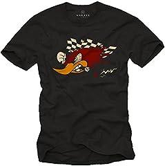 Camisetas Coches y Motos Clasicos - Carreras Tuning - Hombres Originales Motocross Racing