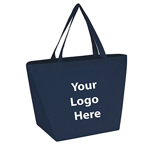 """Budget Shopper Tote Bag - 150 Quantity - $1.35 Each - Promotional Product/Bulk with Your Logo/Customized. Size: 20""""W x 13""""H x 8""""D."""