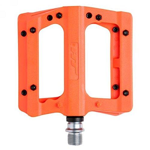 HT PA01Pedales Planas Unisex, Neon Orange