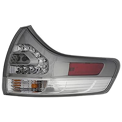 Epic Lighting OE Fitment Replacement Rear Brake Tail Light Assembly Compatible with 2011-2018 Sienna [ TO2805110 8155008040 ] Right Passenger Side RH