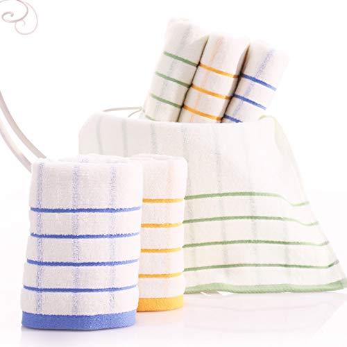 Cloth Napkins Toalla de té 100% algodón Embalaje: 1 Toalla de Cocina por Paquete 33x70 cm Toalla de Plato Lavable con Dibujos de Bordados Alta absorción y Durabilidad (Color : Random Color)