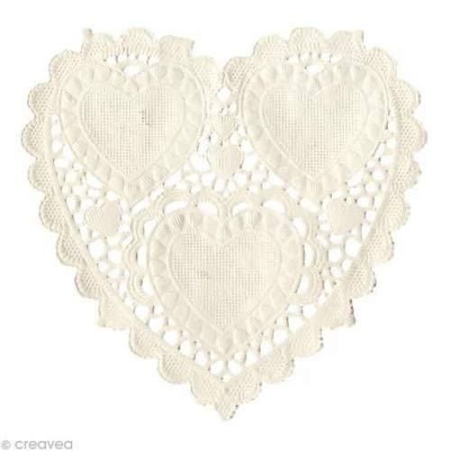Artemio Mantelitos de Papel Corazón