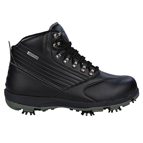 Stuburt 2017 Endurance Waterproof Mens Golf Shoes Winter Boots Black/Titanium 12UK