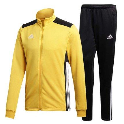 adidas Herren Regista 18 Polyesteranzug Trainingsanzug, Bold Gold/Black/White, S