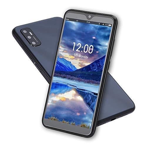 Teléfono Móvil Libres 3G | Android 9.1 Celulares Desbloqueados Smartphones Baratos | Pantalla de 6.1 Pulgadas | 3GB RAM + 32GB ROM | Fingerprint Unlock & Face ID | Batería 4000mAh | Impermeable(Bl