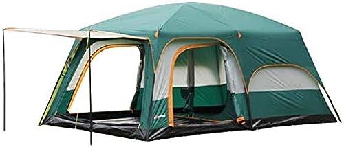 KTH Groupe de Deux Chambres, Une Salle, Tente, Camping extérieur, 6 Personnes, 8 Personnes, 10 Personnes, 12 Personnes, Deux Chambres, Une Salle, Plusieurs Personnes, Double Tente