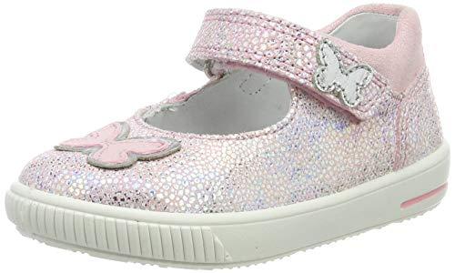 Superfit Baby Mädchen Moppy Ballerinas, Pink (Rosa 55), 24 EU