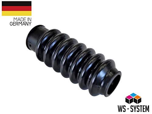 2 Stück Universal Faltenbalg Manschette Achsmanschette L 75mm-118mm Ø 25mm-30mm