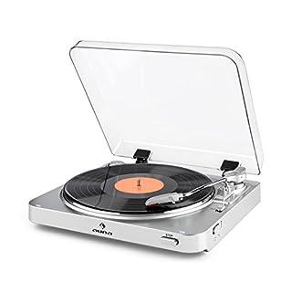 CONNESSIONI CAVI: Per le connessioni cablate, è fornita un'uscita di linea sul pannello posteriore, che inoltra i segnali audio ad amplificatori esterni, consolle di mixaggio o sistemi hi-fi. Così puoi anche ascoltare i tuoi dischi sul tuo stereo. IL...