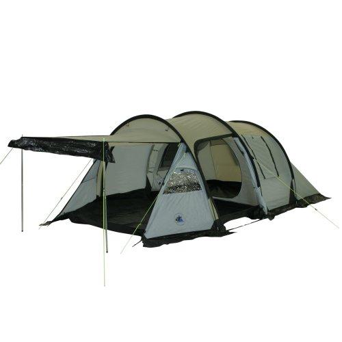 10T - Felton, Tenda per 3 Persone, Colore: Grigio/Azzurro