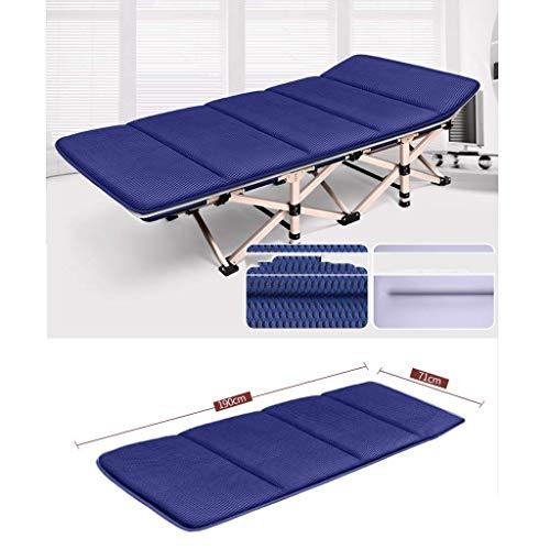 N /A Coussin de chaise longue, épais pour jardin, terrasse, balcon, etc. (couleur : bleu), bleu