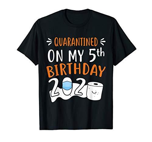 Quarantined on My 5th Birthday 2020 T-Shirt