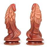 MFMYEE 22cm*5.2cm Realistischer Dildo mit starkem...