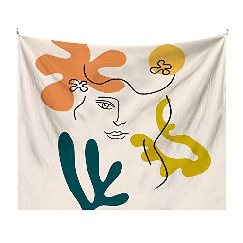 KHKJ Tapiz Colgante de Pared Manta rectángulo Tela de Fondo para decoración del hogar habitación decoración de la Pared del Dormitorio artículos para el hogar A11 230 * 180 cm