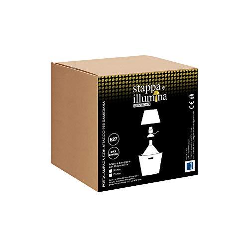 Per damigiane bottiglioni - Stappa e illumina Demijohn (Diametro tappo 55mm)