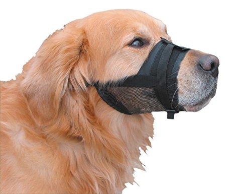 Nobby Bozal Ajustable para Perro, de Nailon, Negro
