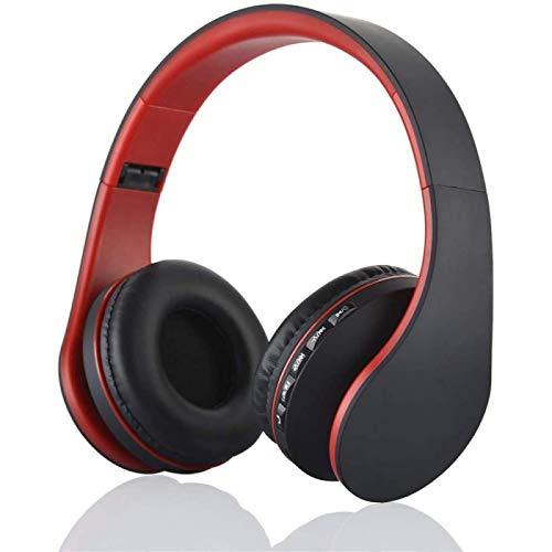 SONG Auriculares Inalámbricos Estéreo BT 4.1 Auriculares Auriculares con Cable de 3,5 Mm Reproductor Radio Manos Libres,Red