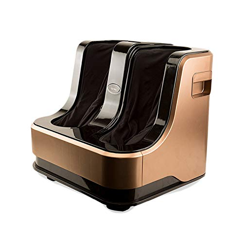 Lifelong LLM135 Eco Leg and Foot Massager, Without Heat and Vibration, 80W, 4 Motors, Brown
