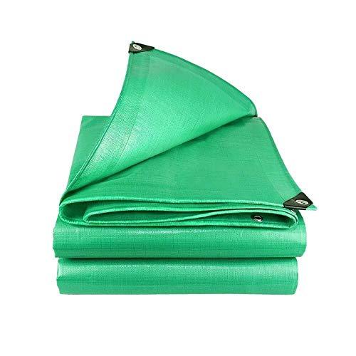 ZHANGYUQI Waterproof Tarpaulin Thick tarp, Heavy Duty Waterproof Tarp, Multilayered Tarpaulin Reinforced Poly Tarp Waterproof Tarpaulin, Outdoor Cover and Camping Use (Size : 8X10m/26x33ft)