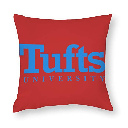 Nother Polyester Throw Pillow Covers Tufts University Pillow Cover Home Decorations 16''×16''