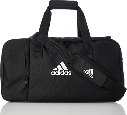 adidas TIRO DU S Gym Bag, Black/White, One Size